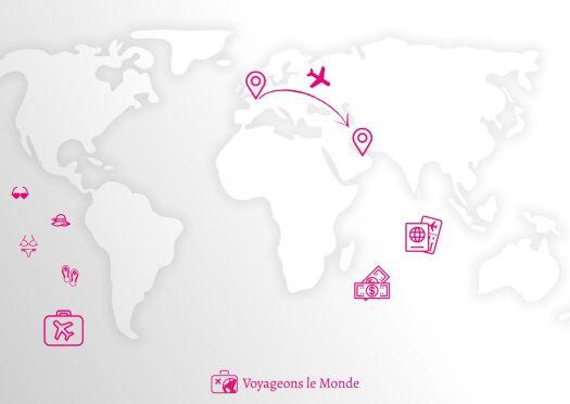Carte Infos pratiques Dubai
