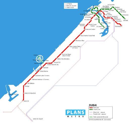 Metro-Dubai