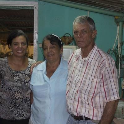 Ania et sa famille (CU) - La Havane, CUBA
