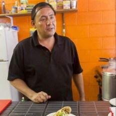 Un sympathique cuisto (MX) - Tulum, MEXIQUE