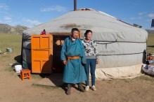 Dodo et sa femme (MG) - Semi Gobi, MONGOLIE