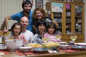 Josh (US), Mitsue (JP), Ayumi et Kazumi (US-JP) - Yamaguchi, JAPON