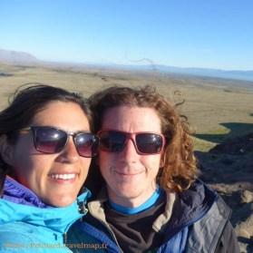 Adrien et Lucille (FR) - El Chalten, ARGENTINE