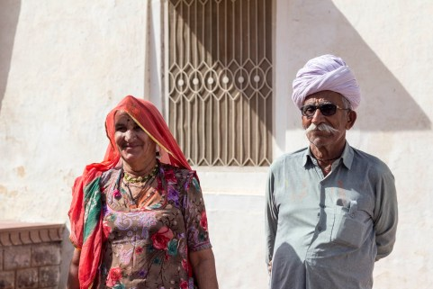 Nanuji et Ramdinji (IN) - Panchla Siddah, INDE