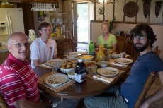 Phil, Jed et Paula (US) - Great Bend, KS, USA