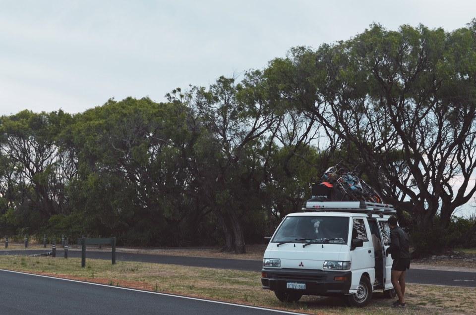 Véhicule immatriculé en Western Australia