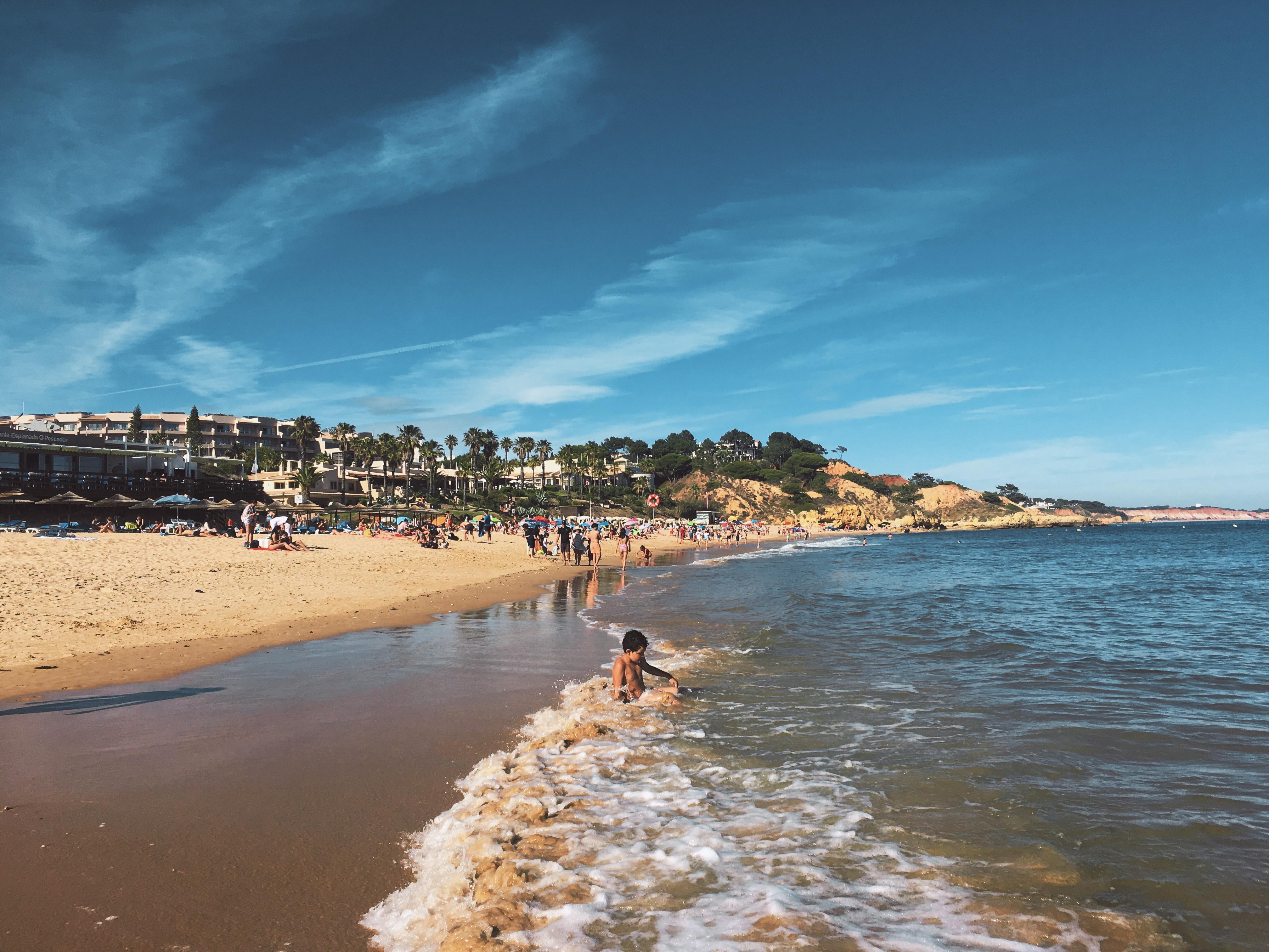 La belle Praia Santa Eulalia