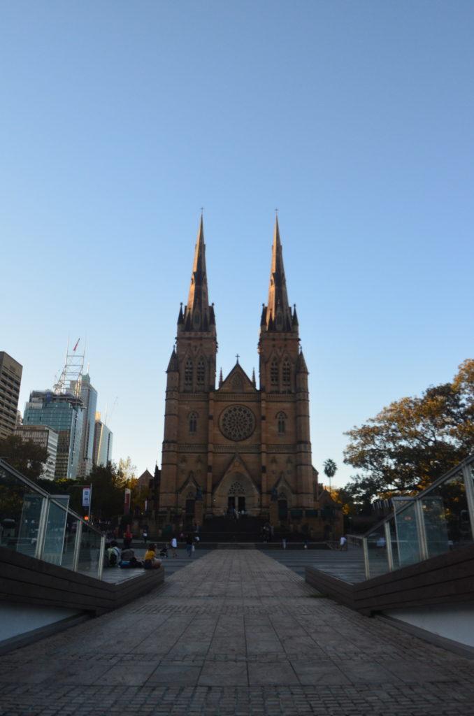 Cathédrale Sainte Marie à Sydney