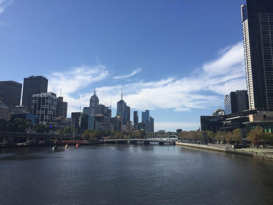 La belle ville de Melbourne
