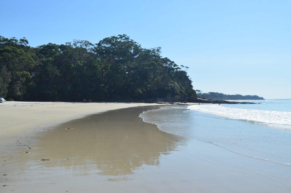 Greenfield beach jervis bay australia