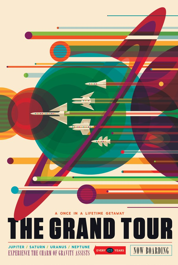 NASA Lets You Download Free Posters Celebrating the 40th ...
