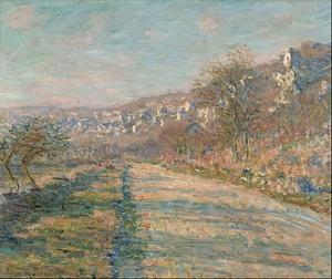 Route de La Roche-Guyon Claude Monet