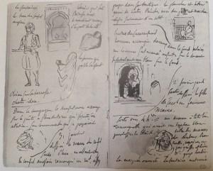 carnets de voyage 19eme - Delacroix - Album du Maroc