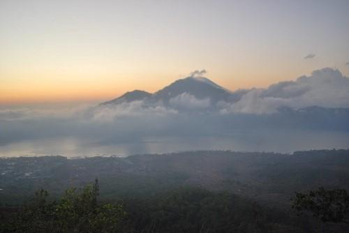 Bali wulkan Batur