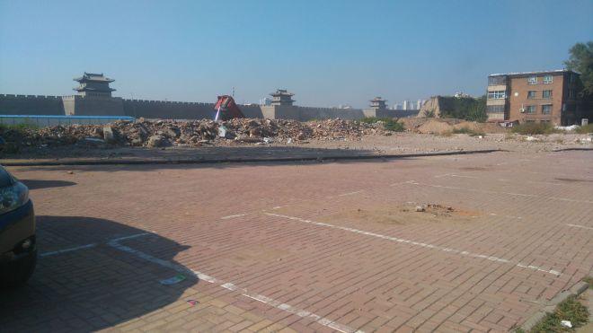Chiny Datong budowa starego miasta