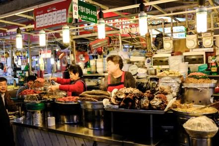 Visiter Séoul et aller au marché Gwan
