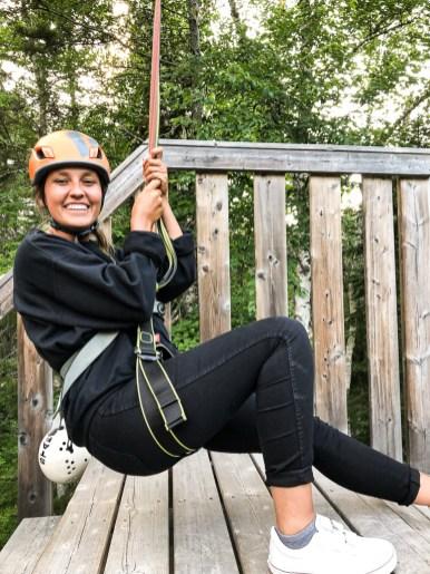 Quoi faire à Miramichi : De la tyrolienne