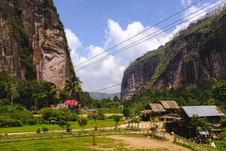 Les paysages magnifiques de la vallée d'Harau