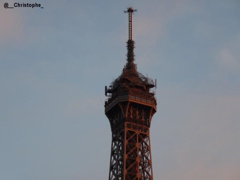 la Tour Eiffel - sommet