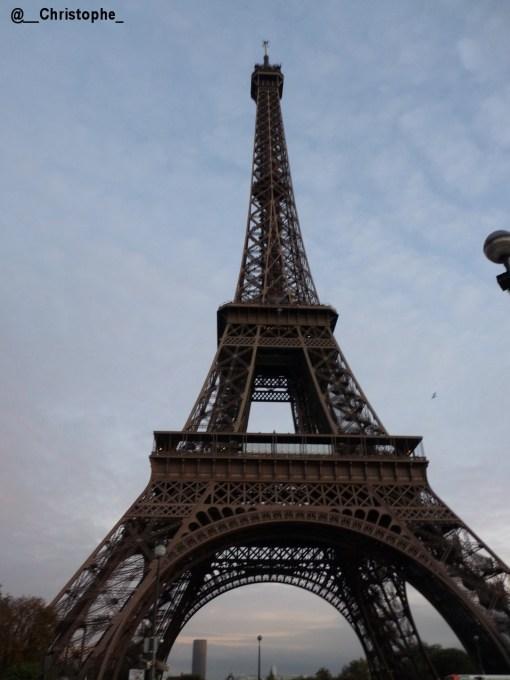 la Tour Eiffel du Champ de Mars