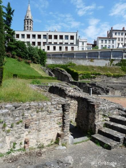 Amphithéâtre des Trois Gaules à Lyon