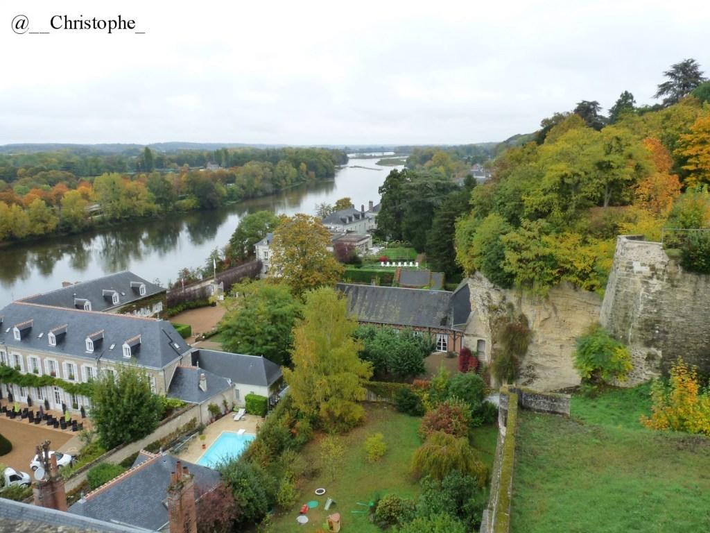 château d'Amboise - vue sur la Loire