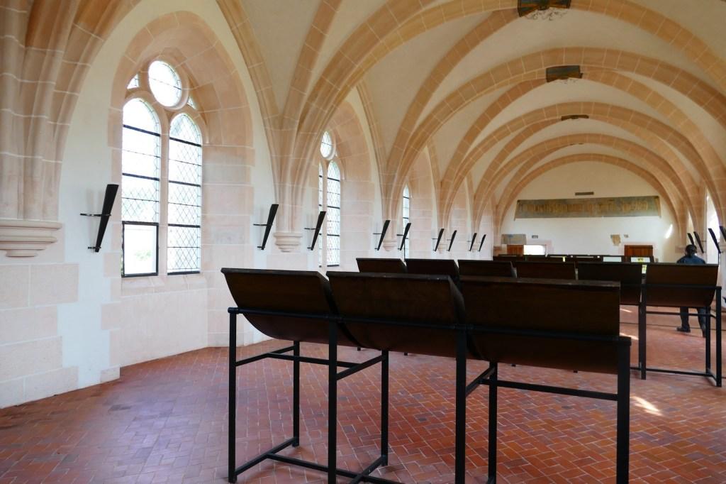 Abbaye de Cîteaux - bibliothèque