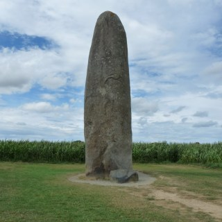 menhir de Champ-Dolent à Dol-de-Bretagne