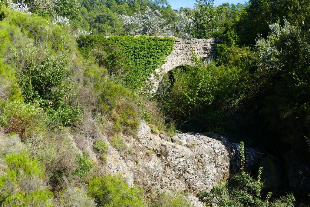 Aqueduc de Fréjus - arche de Jasnin
