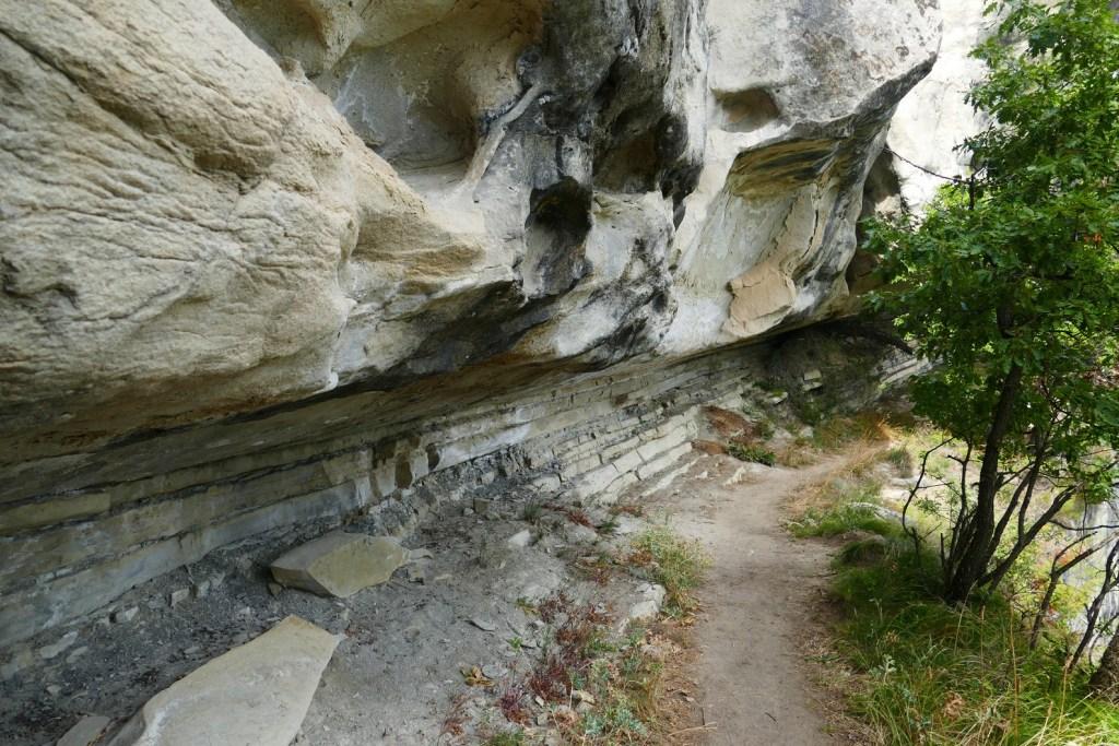 Sentier des Grès d'Annot