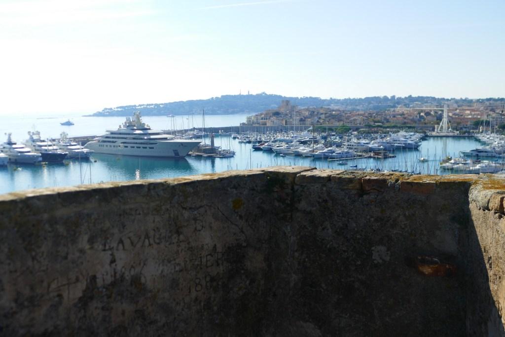 Vue d'Antibes depuis le Fort Carré