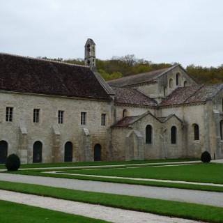 Abbaye de Fontenay - l'église abbatiale