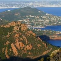 Le Pic du Cap Roux et la Sainte Baume