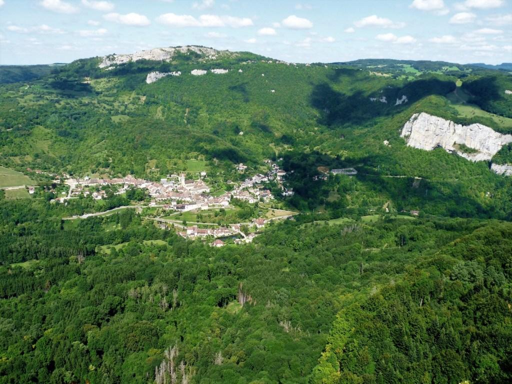 Mouthier-Haute-Pierre (Doubs) Gorges de Noailles