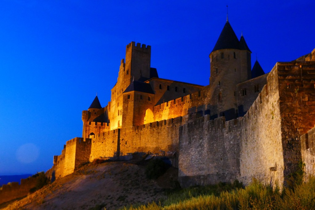 Cité de Carcassonne - porte de l'Aude