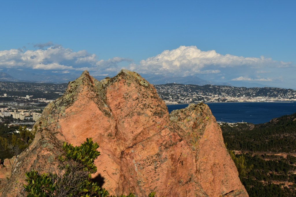 L'Oppidum du Mont Saint Martin au dessus de la Napoule