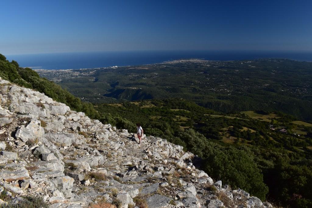 Ascension du Pic de Courmettes 1248m
