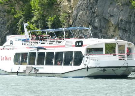 Voyages Jaccon | Déjeuner Croisière à bord du Bateau la Mira