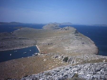 Ile de Kornat: source ocean-evasion