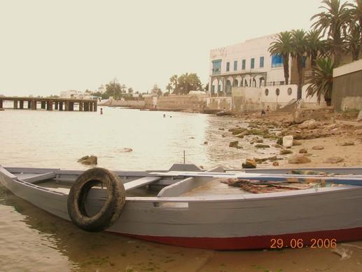 Tunisie, une plage sans touriste