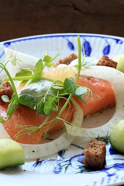 saumon au sel