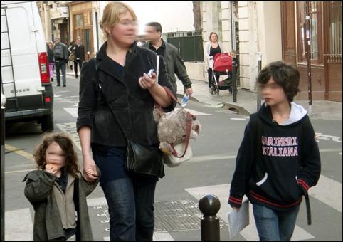 maman enfants Paris