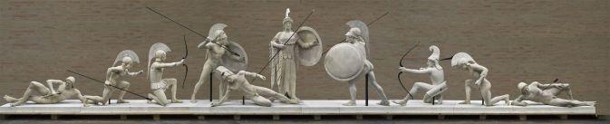 Exposition Le Combat pour Troie à la Glyptothèque à Munich (Muenchen) 1
