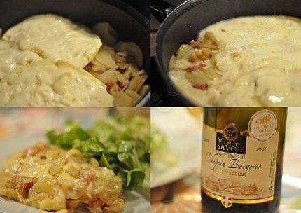 recette savoyarde tartiflette a la poele pela aux lardons