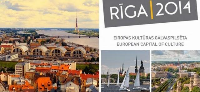 Riga 2014, capitale européenne de la culture ; un château de Lumière 5
