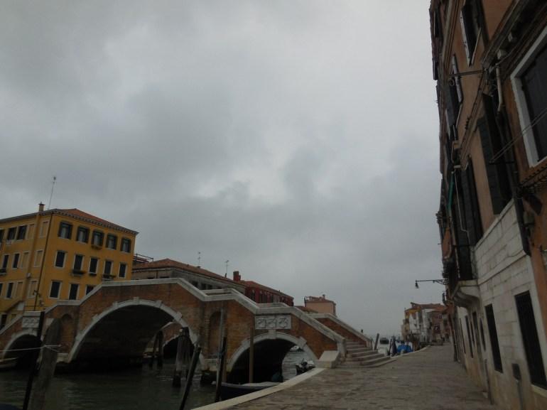 Le Ponte dei Tre Archi a été construit à la fin du XVIIème siècle; il est le dernier pont à 3 arches existant à Venise.
