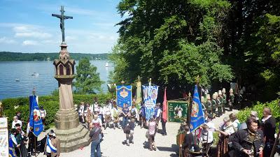Hommage à Ludwig II, Louis 2 de Bavière, au lac Starnberg en Haute Bavière 18