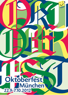 3.Platz des Plakatwettbewerbs, Copyright Oktoberfest.de