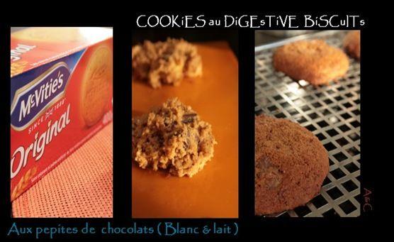 Cookies au digestive biscuit