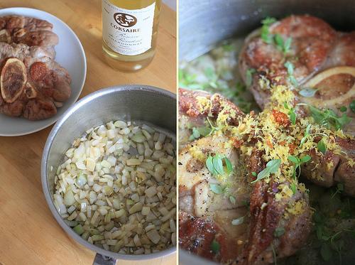 Le jarret de veau dans sa casserole